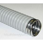 Металлорукав 11мм в изоляции (рукав металлический изолированный) фото
