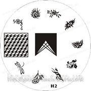 Диски для стемпинга серии H № 2,4,6,7,8 фото