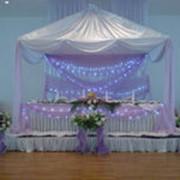 Шатер, оформление свадеб, тканью, цветами фото