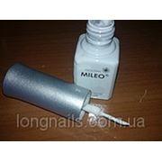 Гель-краска Mileo белая. фото
