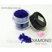 Кашемир (бархат) для ногтей №11 (ярко-фиолетовый,насыщенный) фото