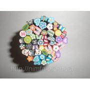 Фимо набор 50 шт для дизайна ногтей фото