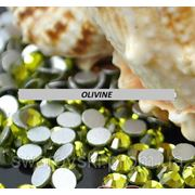 Стразы ДМС Olivine ss3(1,4мм).Цена за 100шт. фото