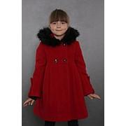 Пальто зимнее 7-505-890 (красный) фото