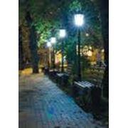 Освещение уличное фото
