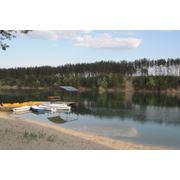 Голубые озера шелковый загар и ресторан Ришелье фото
