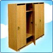 Шкаф гардеробный, 4-х секционный ДК-220 фото