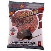 Зерно от крыс Домовой Прошка Тройной удар 150г пакет