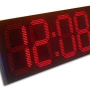 Часы-термометр электронные фото