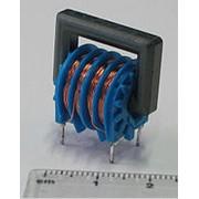 Электрический дроссель с ферромагнитным сердечником. фото