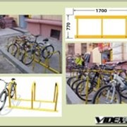 Велопарковка массовая на 6 мест VP- 8- 6 фото