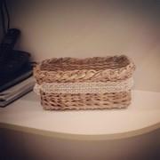 Плетеная корзиночка фото