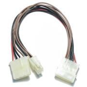 Переходник дополнительного питания процессора c 4 pin molex на 4 pin cpu 10 см фото