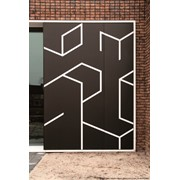 Немецкие фасады Hpl, перфорированные фасады Resoplan, пластик Hpl фасадный, панели архитектурные самого высокого качества фото