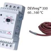Терморегуляторы электронные на шину DIN DEVIregTM 330 диапазон регулировки 60...160 °С фото
