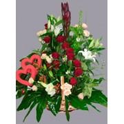 Цветы в подарок. фото