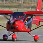 Полеты на спортивных самолетах. Пилотаж самолета А22 фото