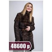 Дубленка женская SPCH 1640 BAYAN, коричневая фото