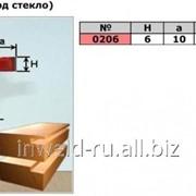 Фреза кромочная фальцевая (H6 a10) (под стекло) Код товара: 0206 фото