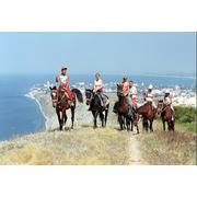 Конные прогулки конные туры в Крыму (Севастополь) фото