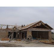 Влаштування дахів з SIP панелей. фото