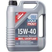LIQUI MOLY MoS2 Leichtlauf Super Motoroil SAE 15W-40 1л, 4л и налив