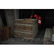 Контейнер овощной деревянный разборный. Купить в Никополе