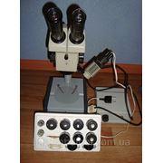 Микроскоп стереоскопический МБС-9 Новый с зипом полный комплект фото