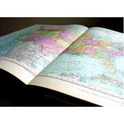 Картографическая продукция: карты мира Европы Украины разных регионов; атласы различной тематики планы городов фото