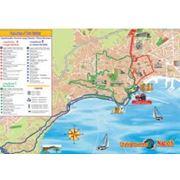 Карты туристические фото