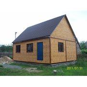 Деревянный каркасный котедж перевозимый фото