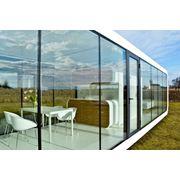 Модульный компактный сборный мобильный современный дом 45 кв.м. Есть кухня санузел спальня фото