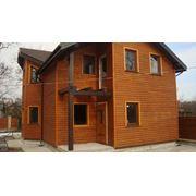 Энергосберегающий тёплый Каркасный дом для комфортного всесезонного проживания на семью из 4 - 5 человек.