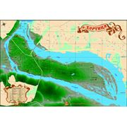 Карта острова Хортица фото