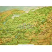 Карты географические карты под заказ в электронном виде а также для WEB сайтов фото
