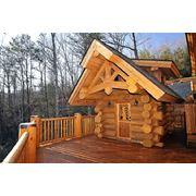 Деревянные дома коттеджи по индивидуальным проектам под ключ фото
