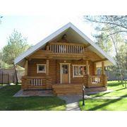 Дома срубы деревянные Харьков фото