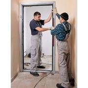 Установка бронированых дверей фото
