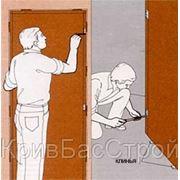 Установка межкомнатных дверей любой сложности фото