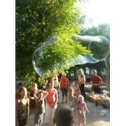 Шоу пузырей на детский праздник фото