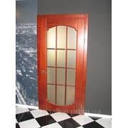 Двери межкомнатные со стеклом из дуба