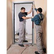 Установка металлических,бронированных дверей