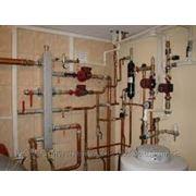 Установка и обвязка котельного участка, отопления и горячего водоснабжения