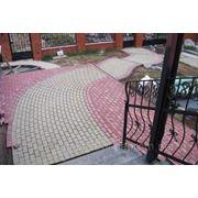 Укладка тротуарной плитки в Запорожье фото