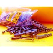 Дюбели 6х55 mm потай WAVE упаковка ziplock - ISO 9001 фото