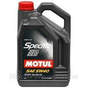 Motul Specific 505.01-502.00-505.00 5W-40 5L фото