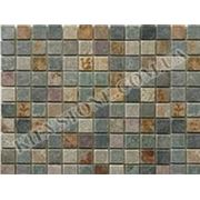 Испанская мозаика (зелено-бирюзовая, коричневая) фото