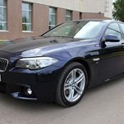 Автомобиль BMW 528 синий металлик фото