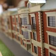 Изготовление архитектурных макетов таунхаусов фото