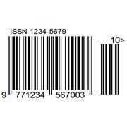 Изготовленгие 13-значного штрих-кода на основе ISSN фото